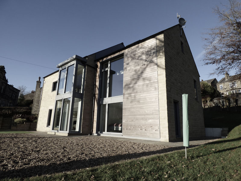 passive house, glazed pod