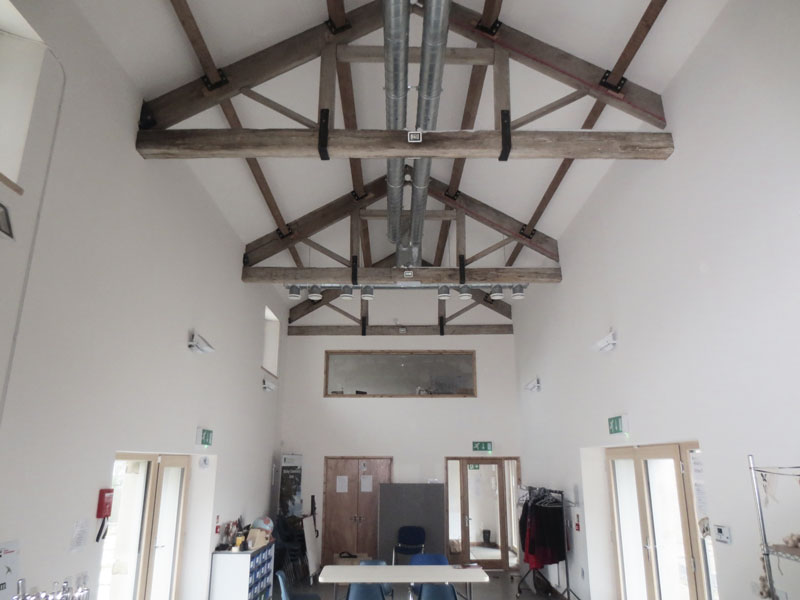 Stirly Farm, passive house, barn conversion