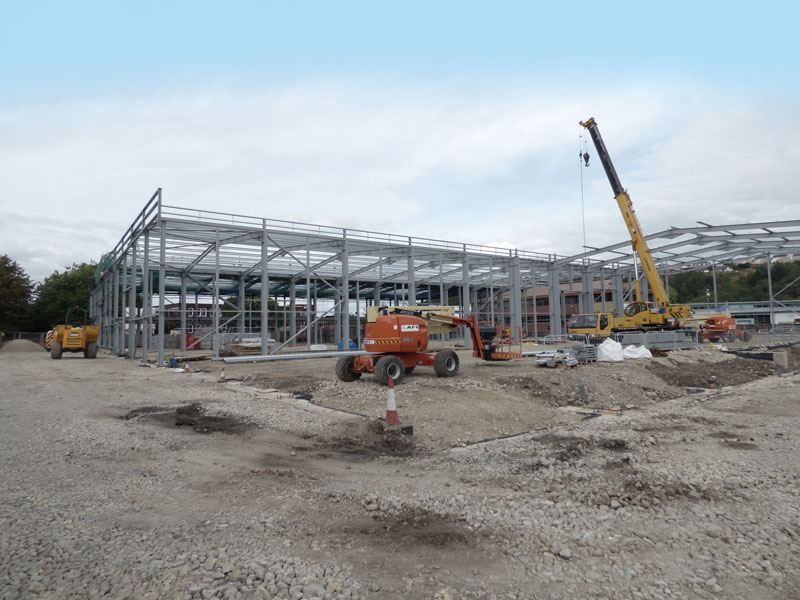 warehouse steelwork